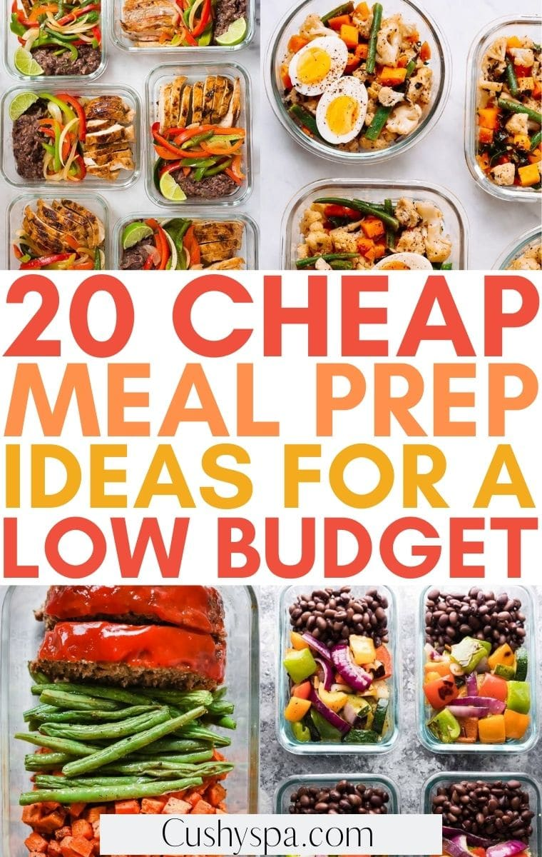 cheap meal prep