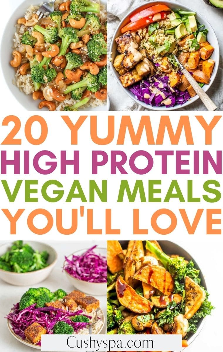 high protein vegan meal ideas