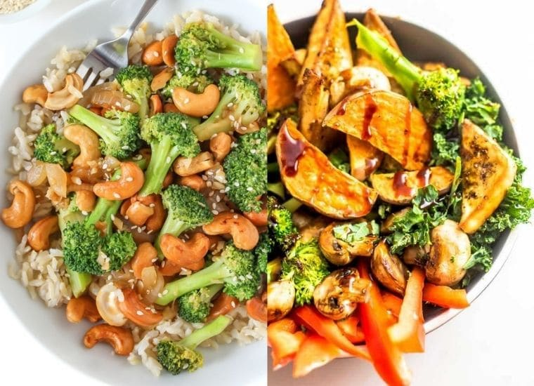 high protein vegan meals