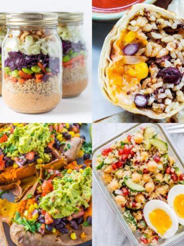 21 Delish Vegetarian Meal Prep Ideas