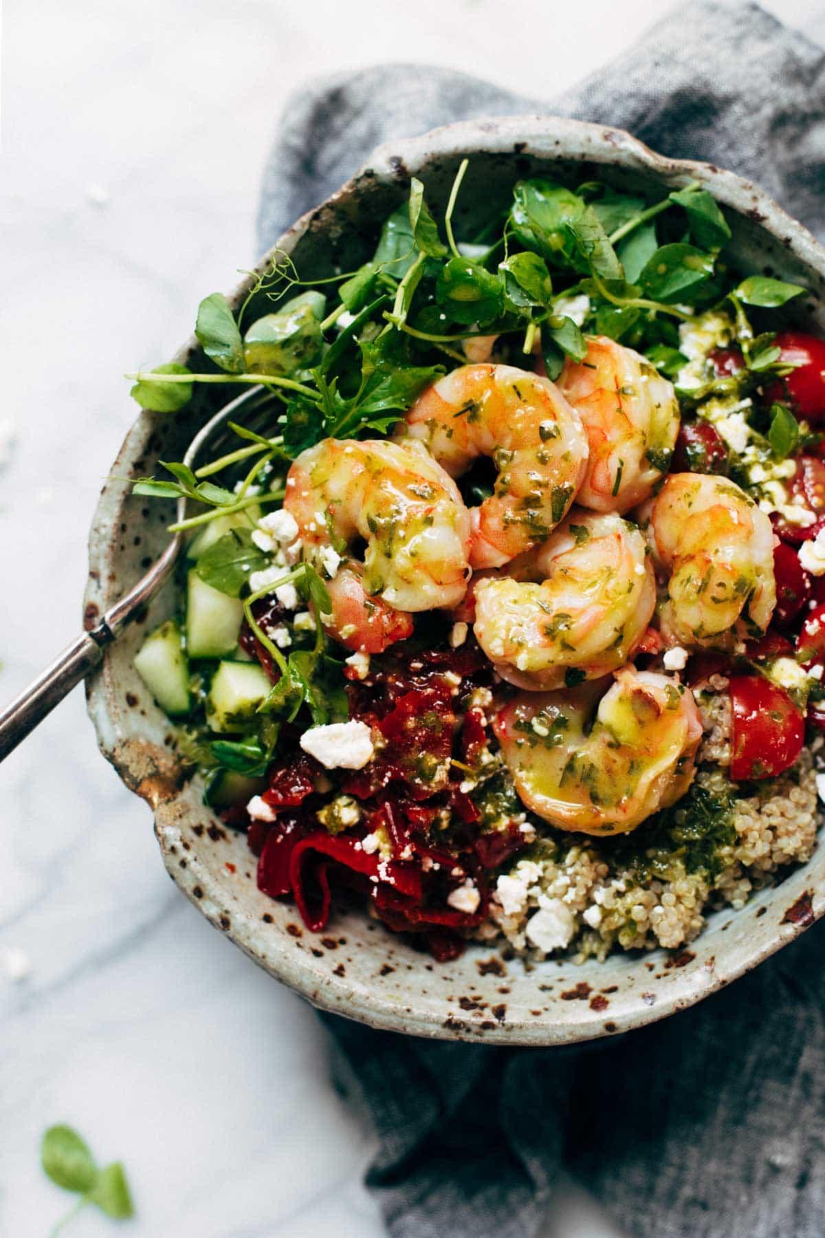 Quinoa Salad Jars