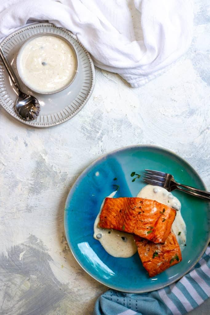 Air-Fryer Salmon Fillets
