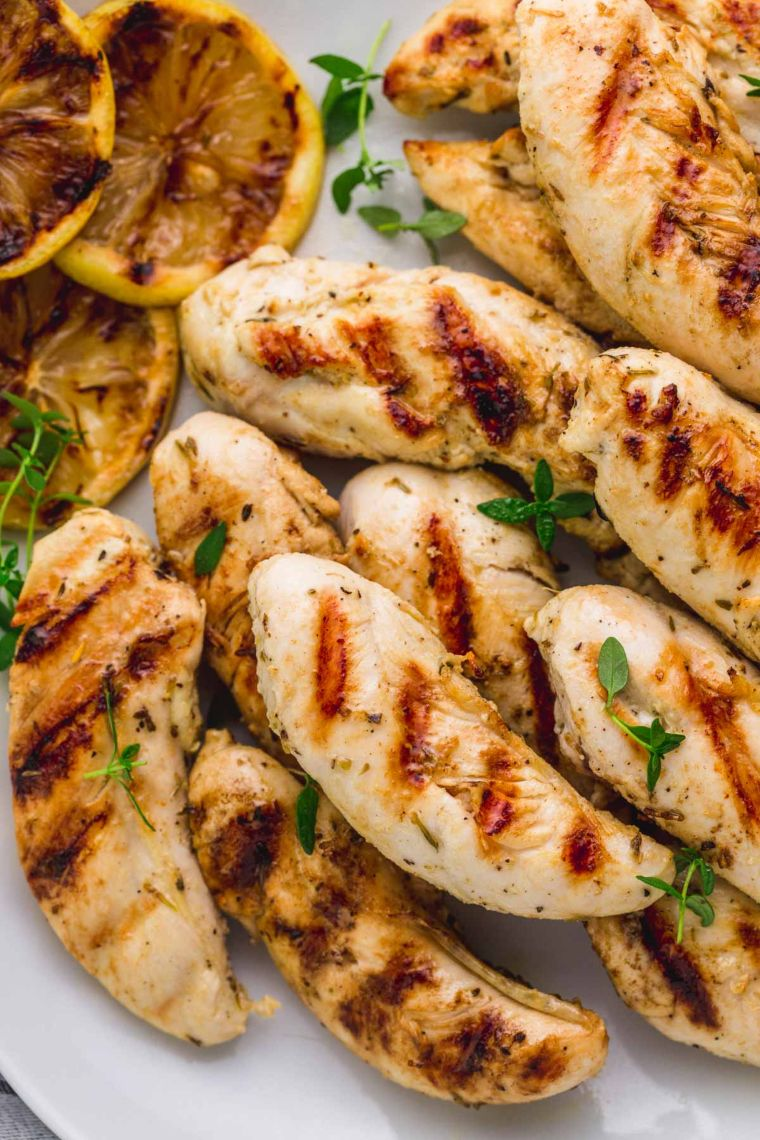 Grilled Chicken Tenders