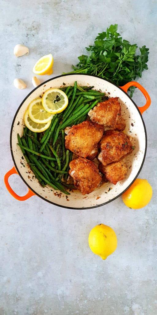 Garlic Butter Keto Chicken Thighs