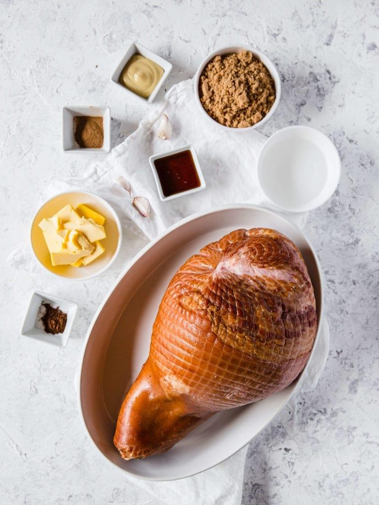 Sugar-Free Keto Glazed Ham