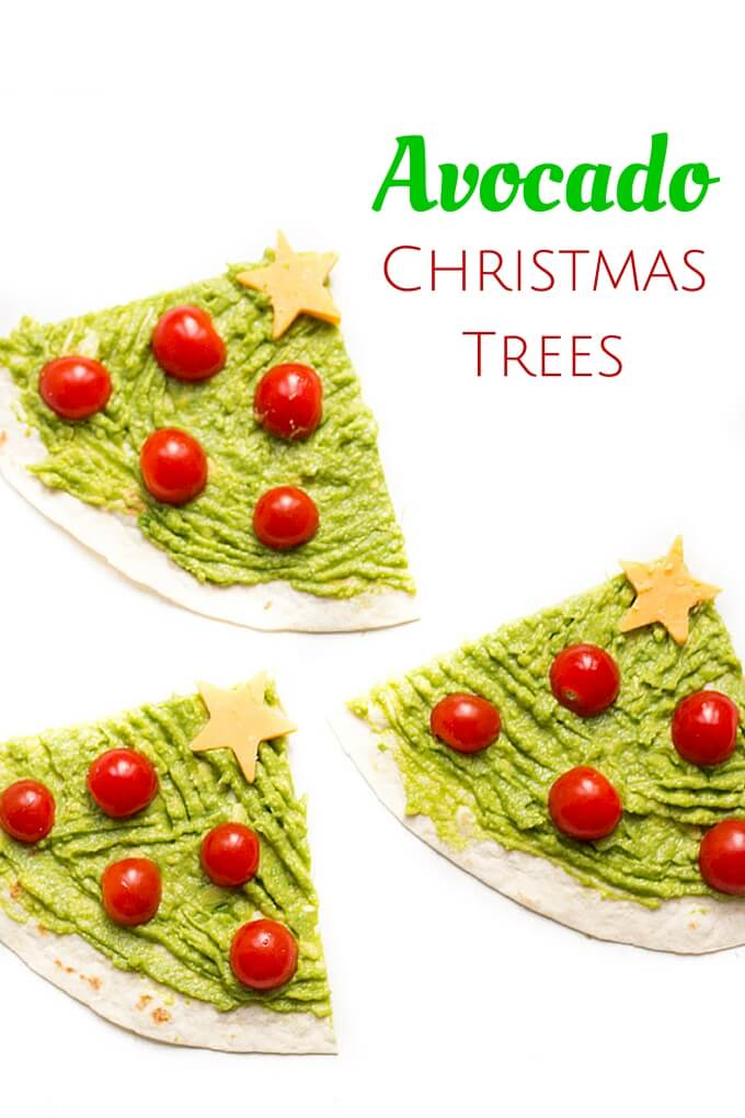 Avocado Christmas Tree
