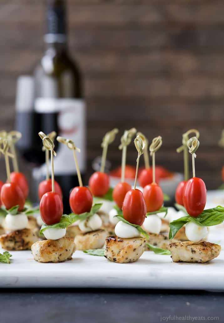Caprese Chicken Skewers
