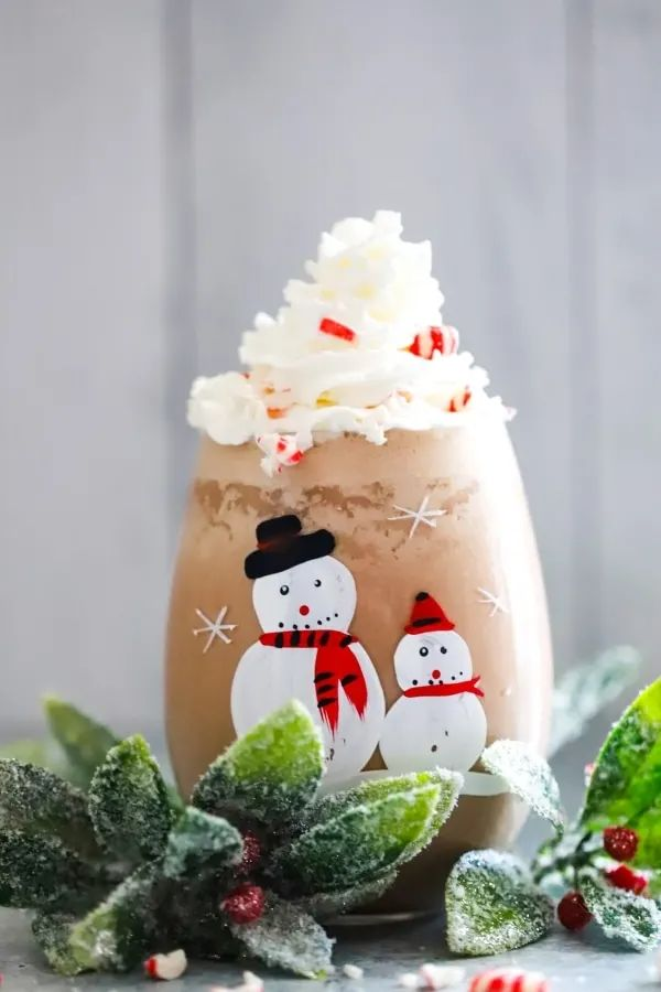 Chocolate Peppermint Shake