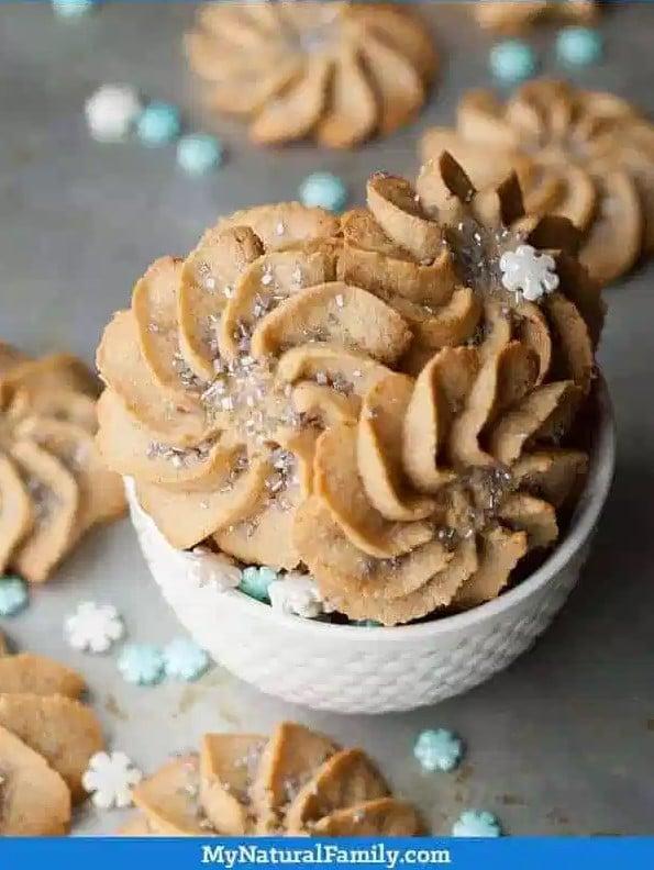 Almond Flour Spritz Cookie