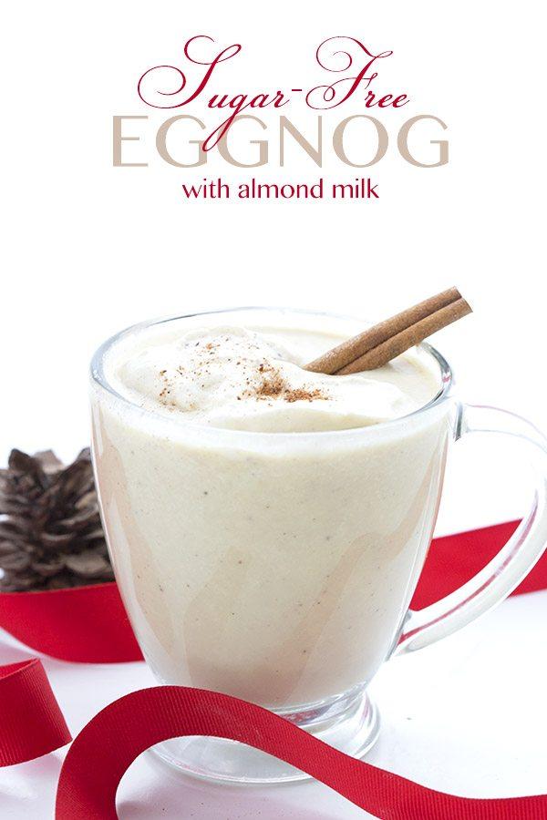 Keto Almond Milk Eggnog
