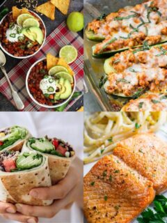 27 Easy High Protein Meals