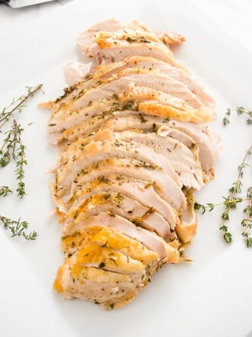Garlic Roasted Turkey Breast