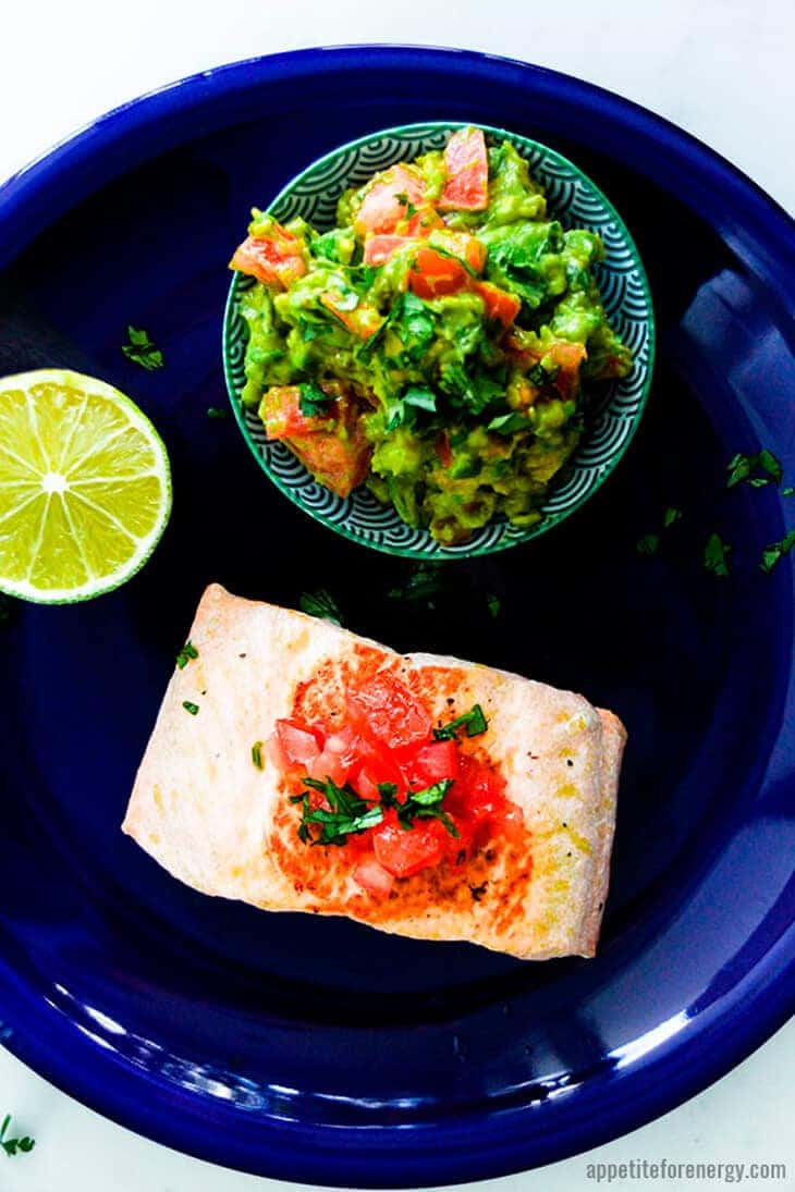 Salmon With Avocado Jalapeno Salsa