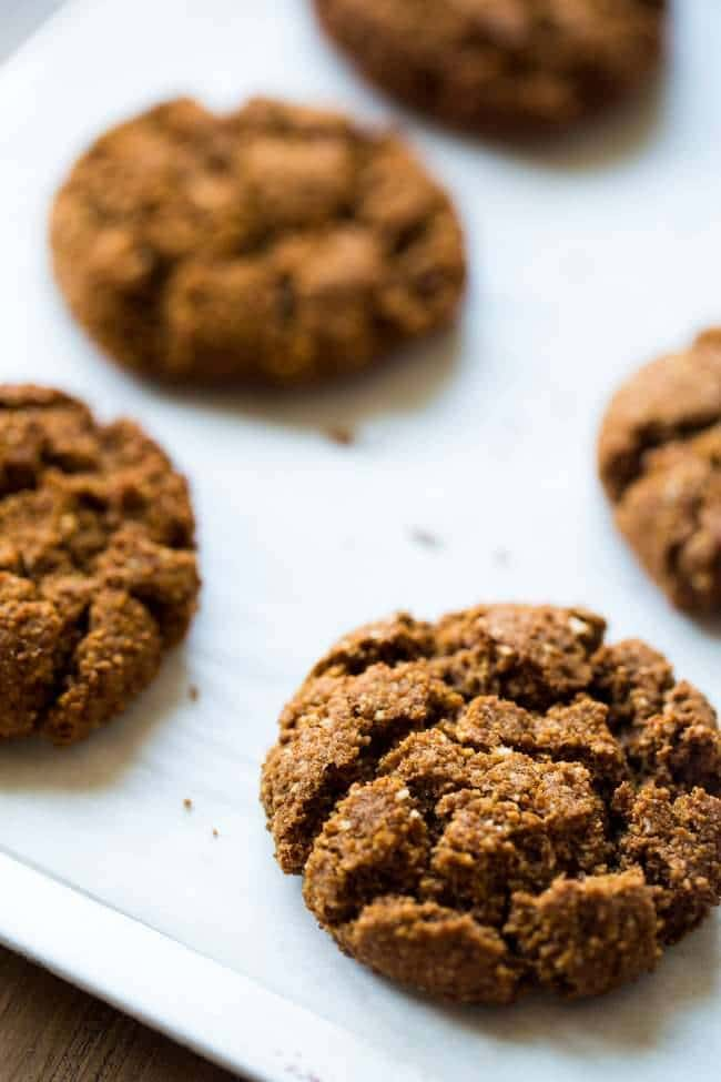 Healthy Ginger Snaps