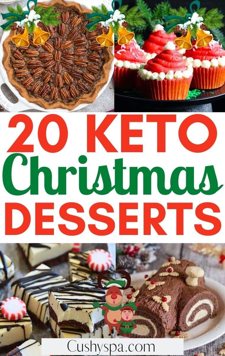 keto christmas desserts