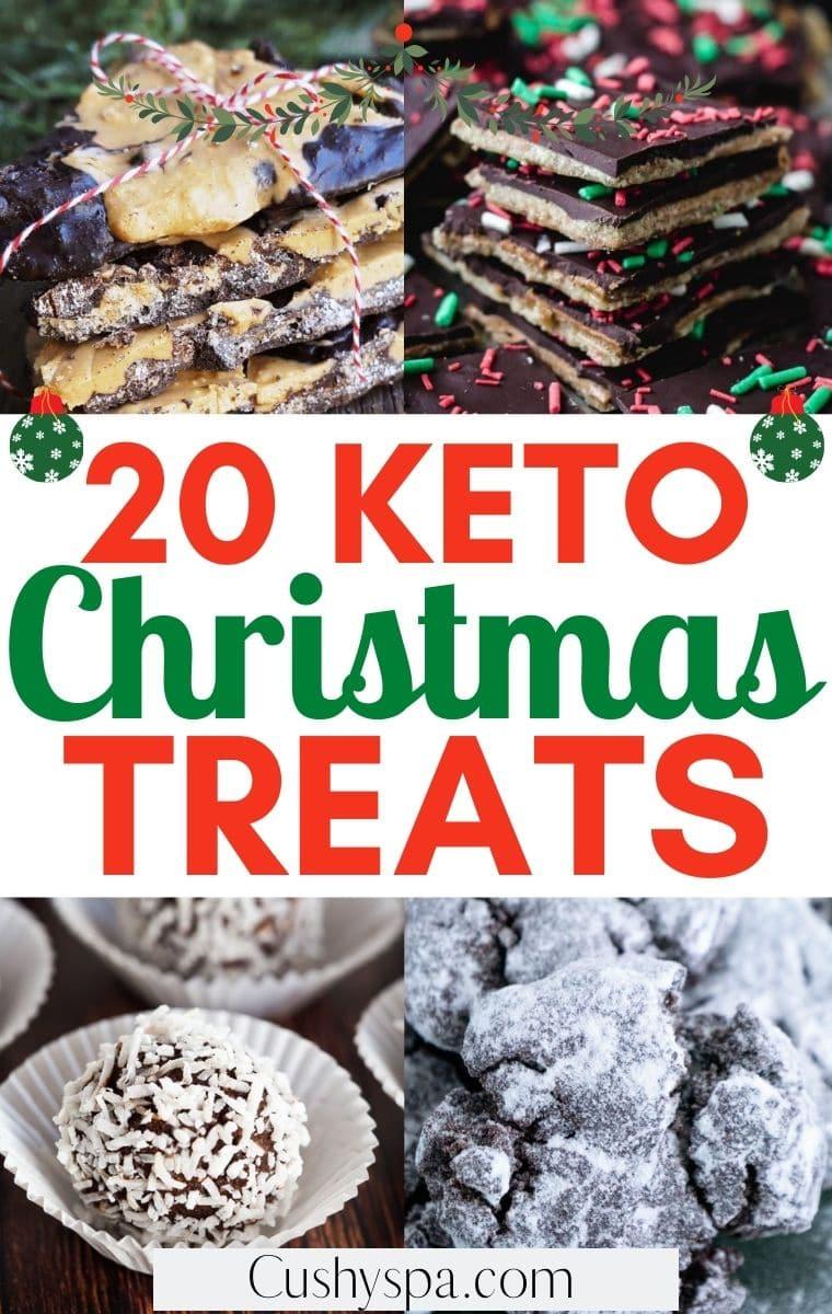 keto christmas treats