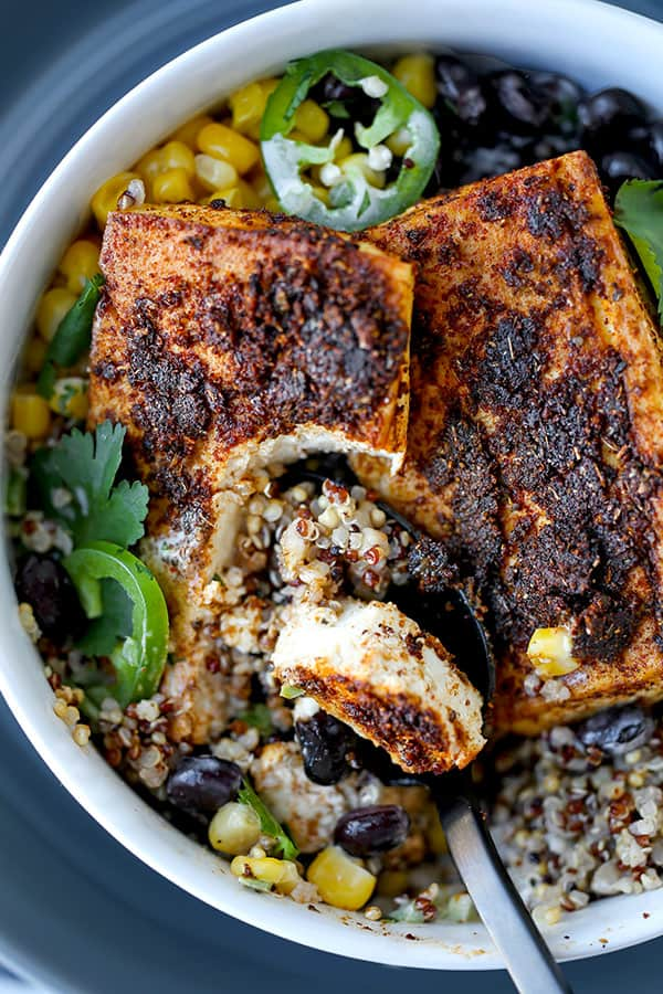 Baked Tofu Steaks