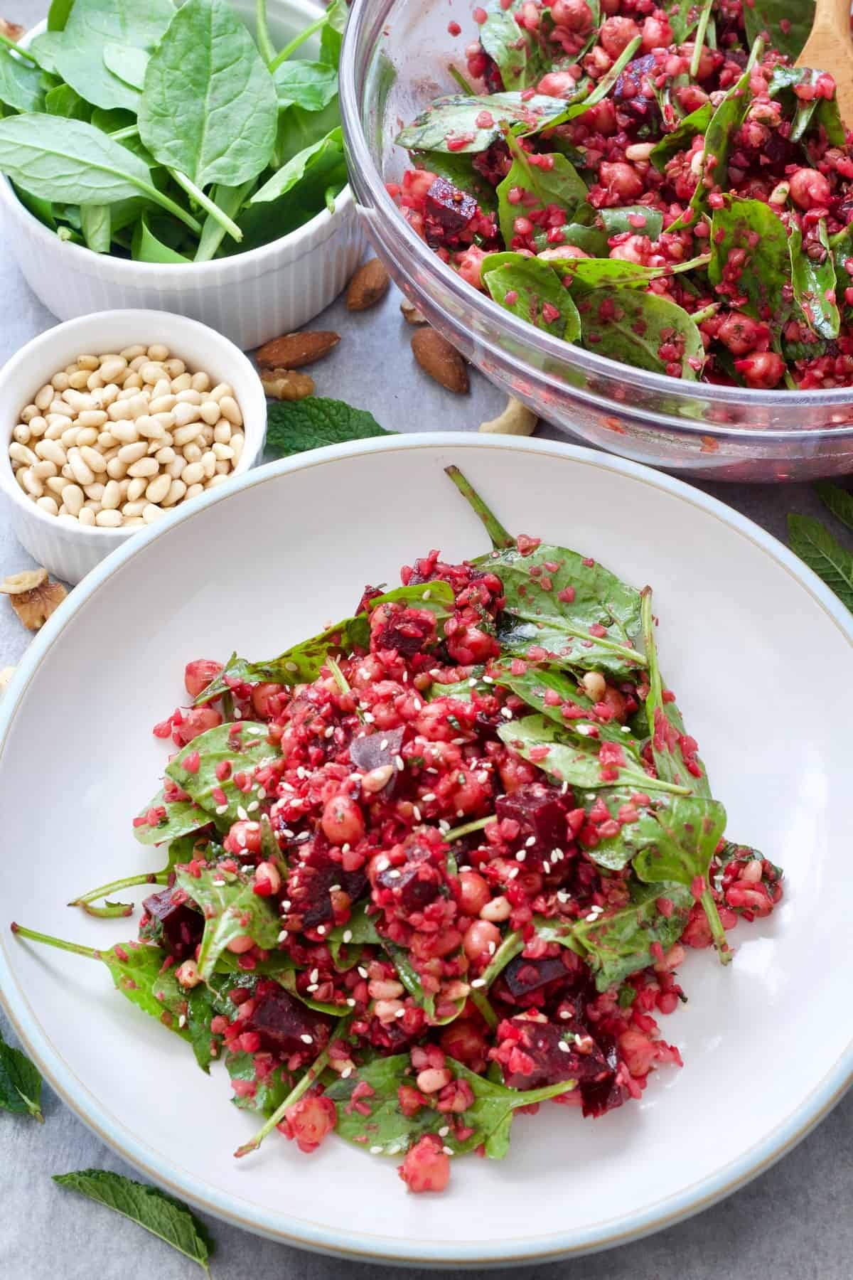 Beetroot Salad With Chickpeas