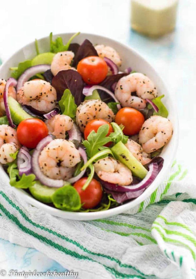 Low Carb Keto Shrimp Salad