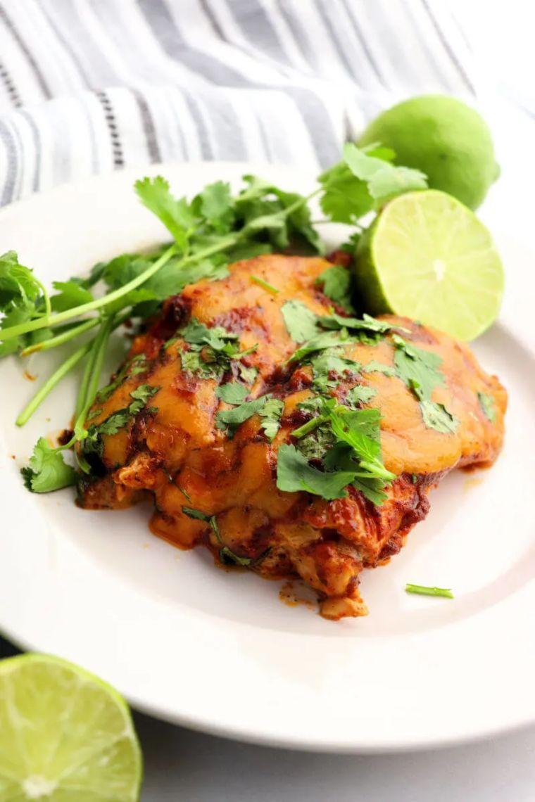 Keto Chicken Enchiladas