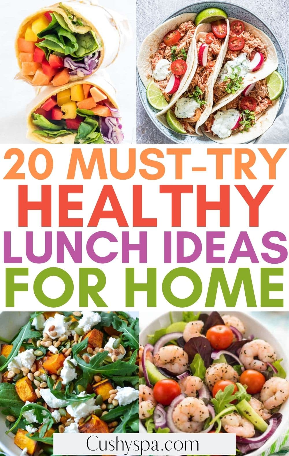 healthy at home lunches