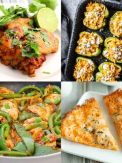 low carb high protein meals