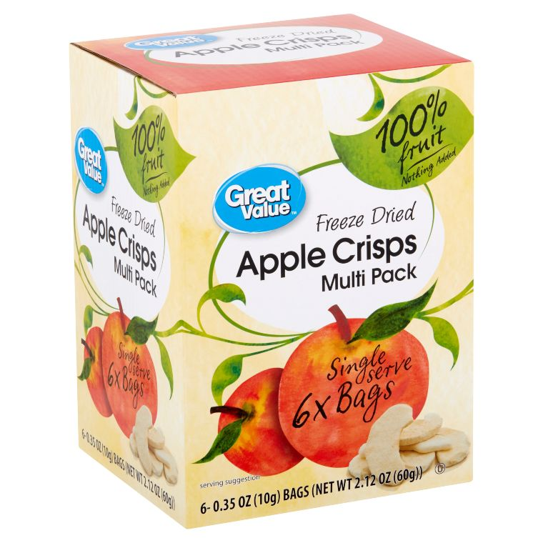 Great Value Freeze Dried Apple Crisps