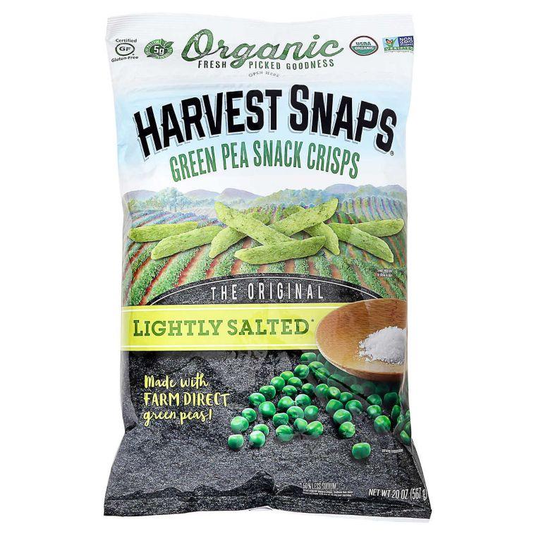 Organic Green Pea Snack Crisps