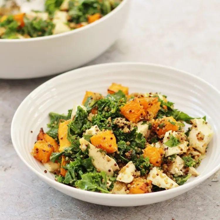 Chicken, Kale, Quinoa & Pumpkin Salad