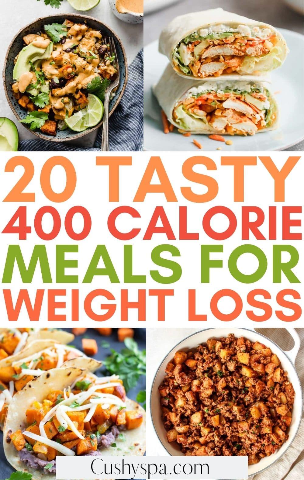 400 calorie meals