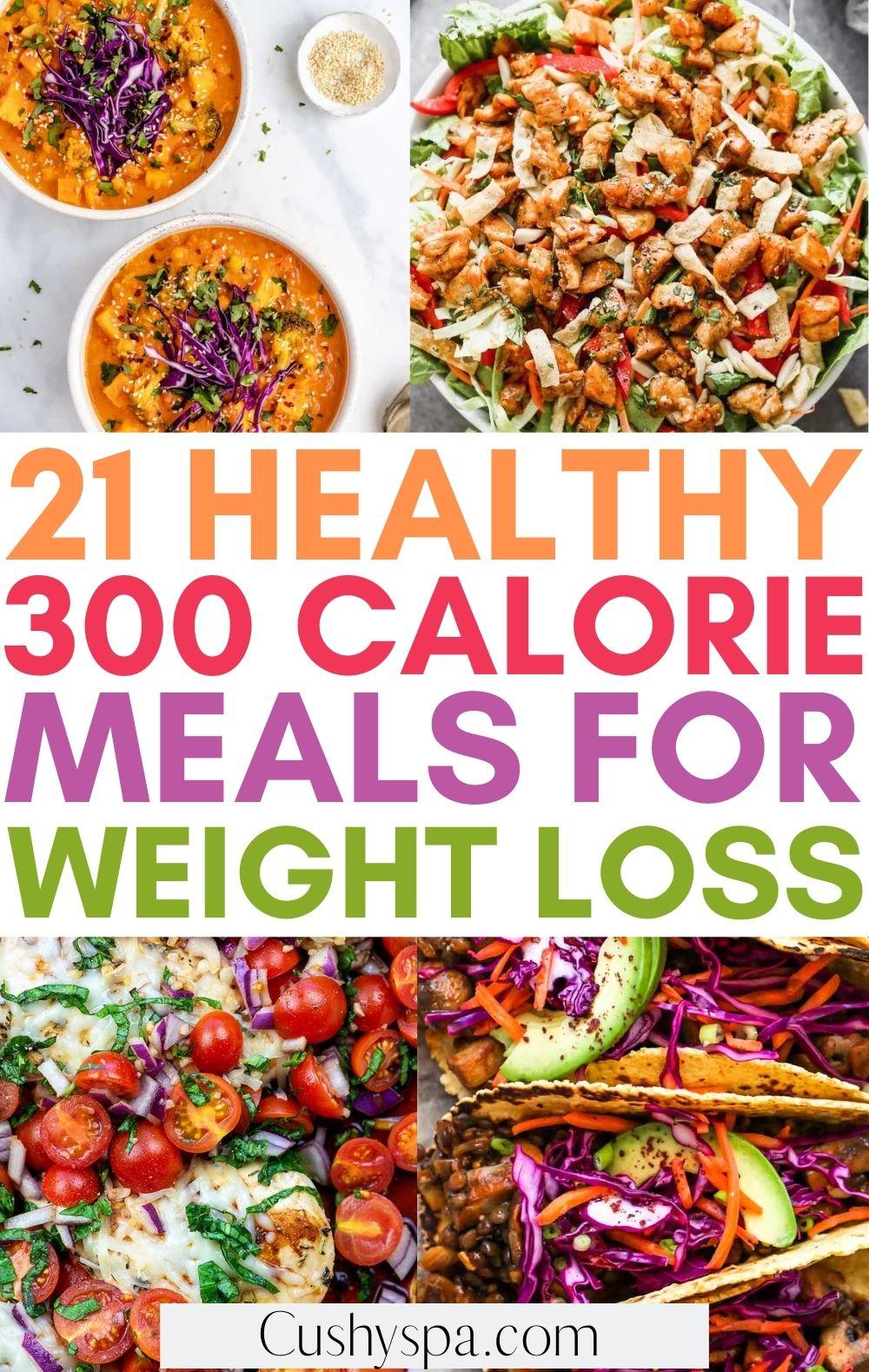 healthy 300 calorie meals