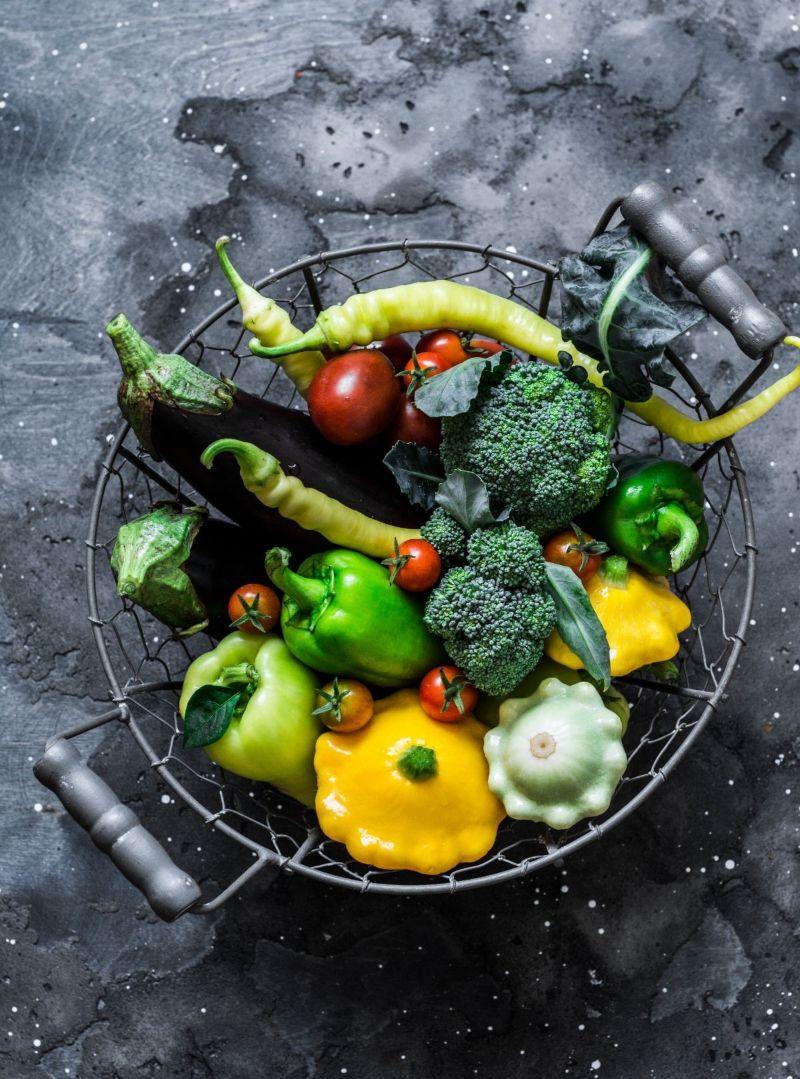 bowl full of vegetables