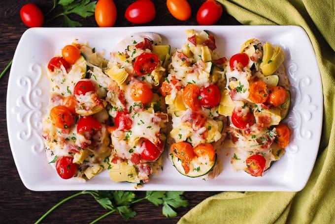 Italian Chicken & Vegetables