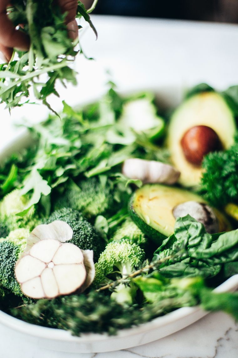 salad of greens