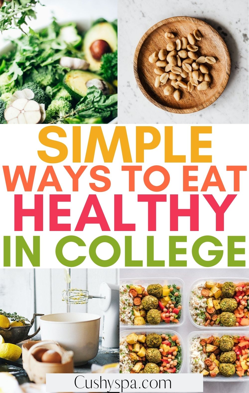 ways to eat healthy