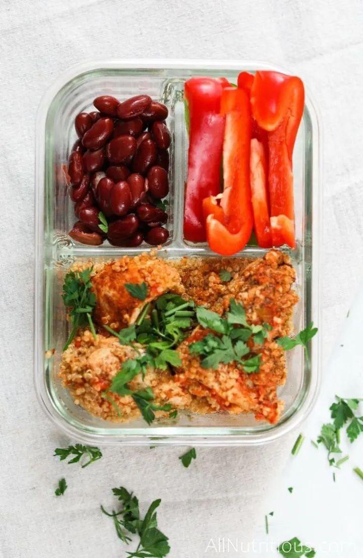 Instant Pot Spicy Chicken with Quinoa