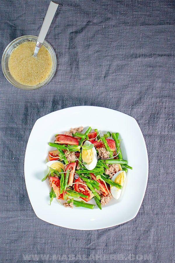 Tuna Asparagus Salad