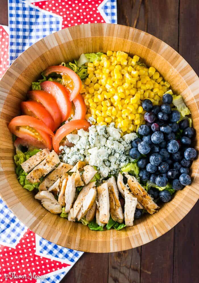 Blueberry Gorgonzola Farmers Salad
