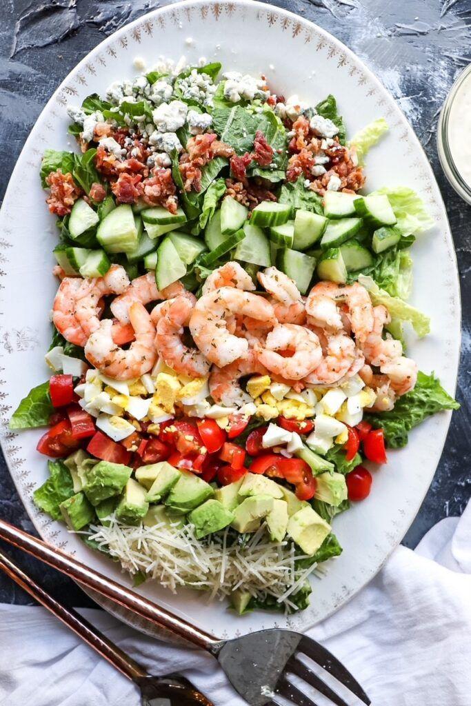 Cobb Salad with Cilantro