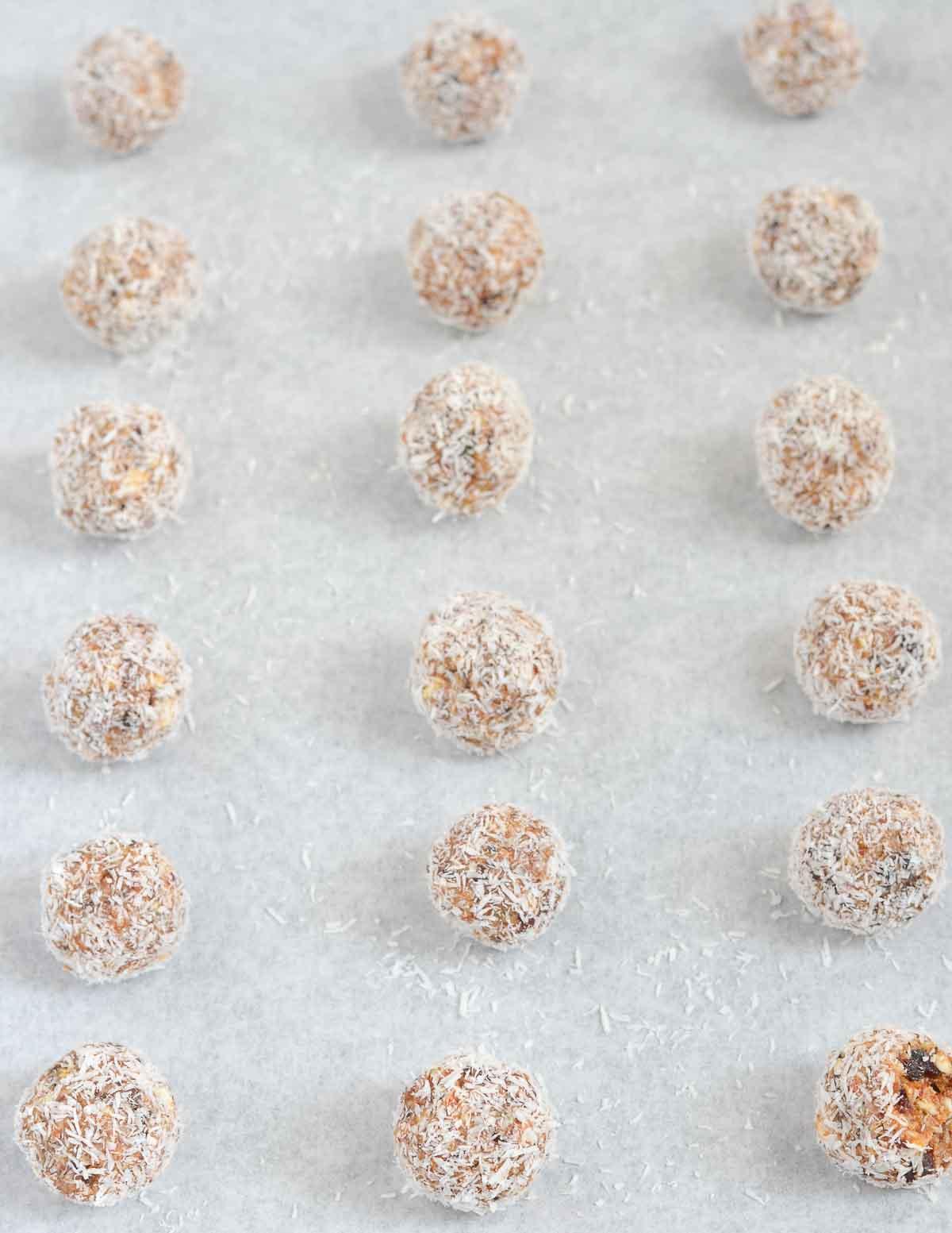 Salted Caramel Protein Bliss Bites
