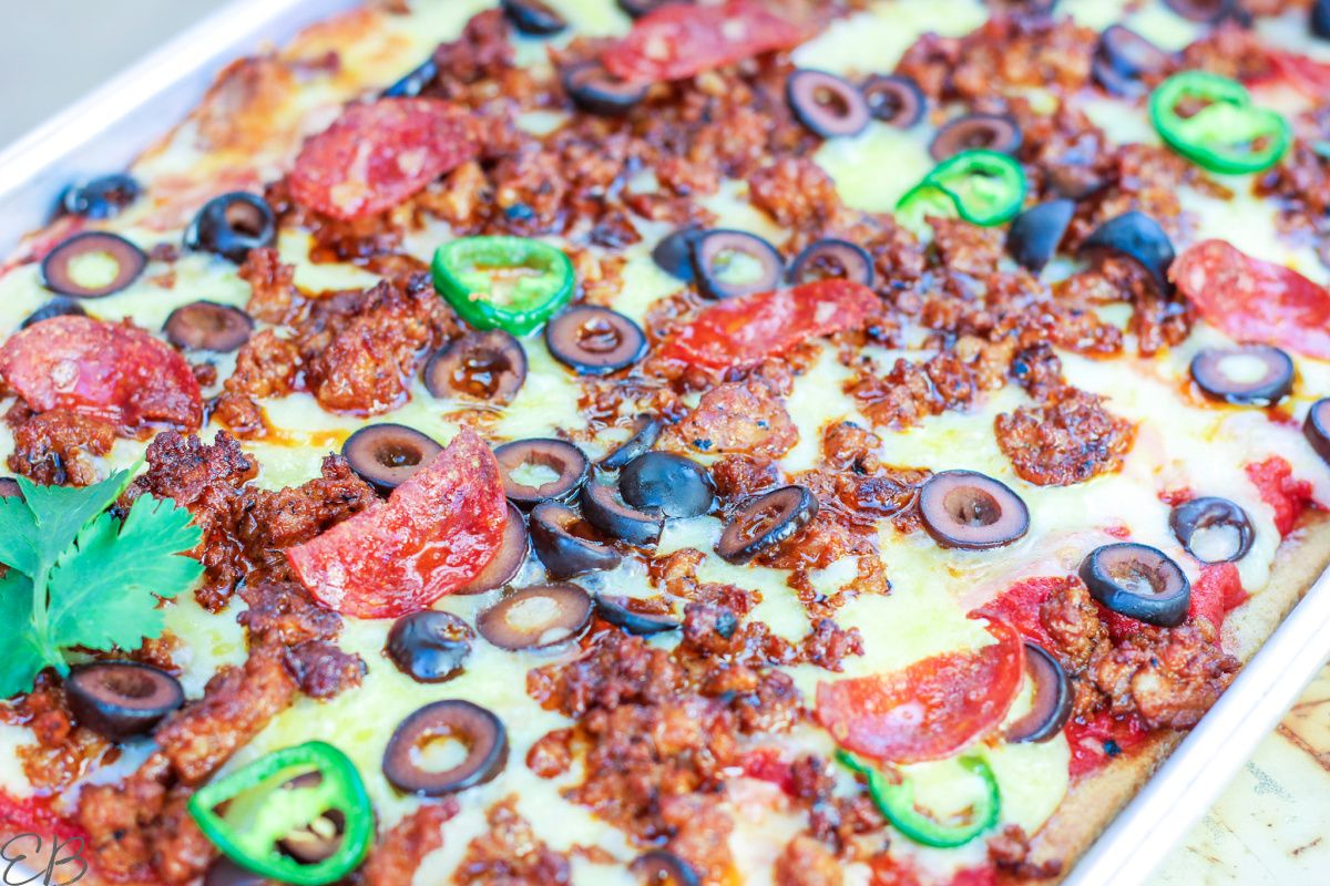 Mexican Pan Pizza