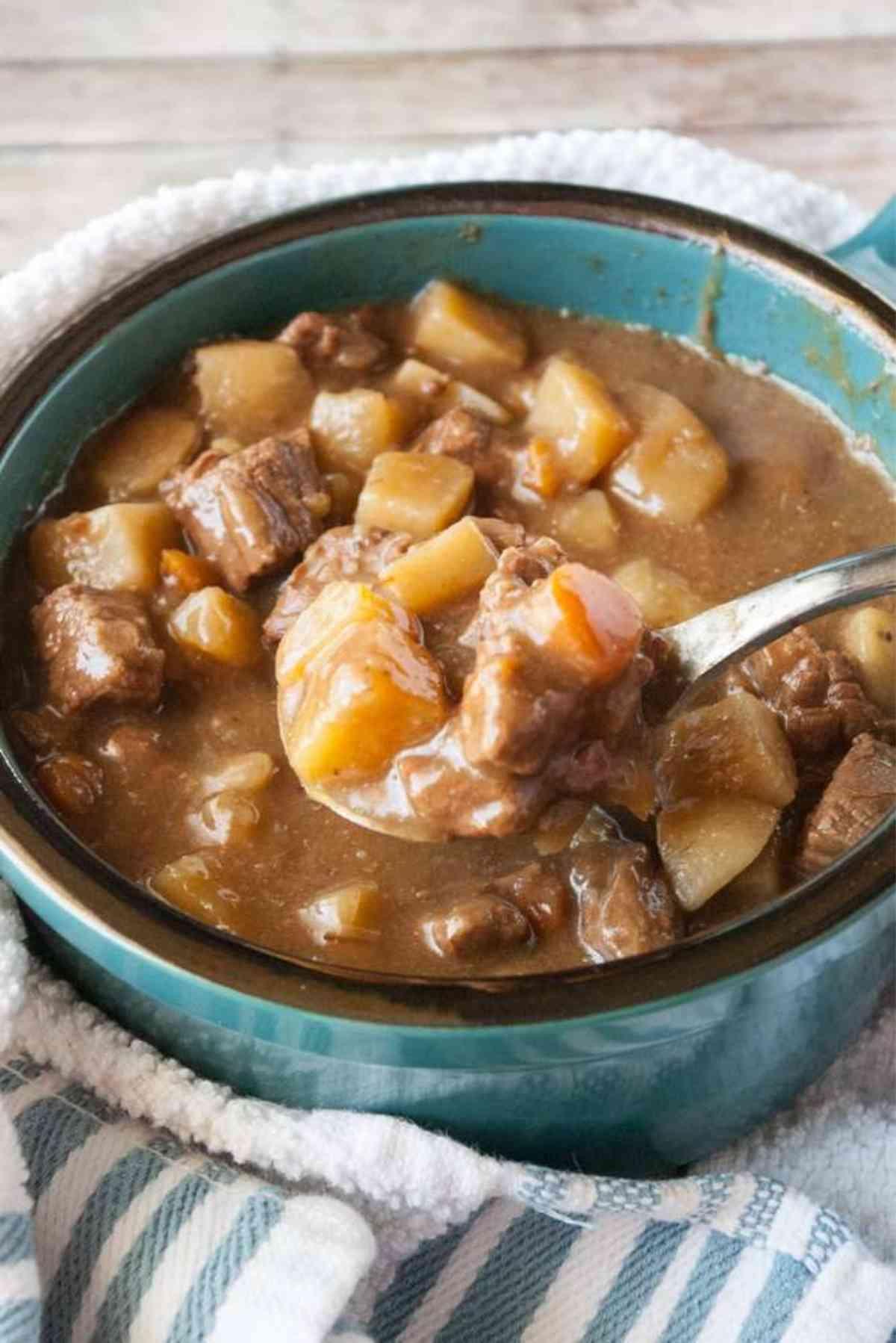Citrus Beef Stew