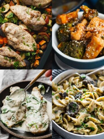 healthy fall dinners