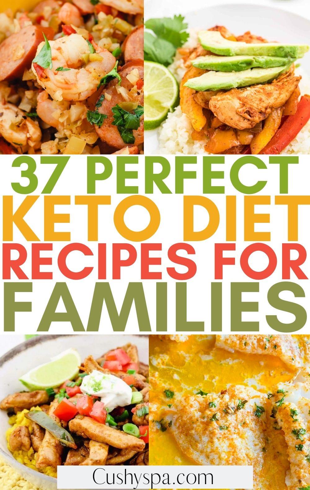 keto recipes for families