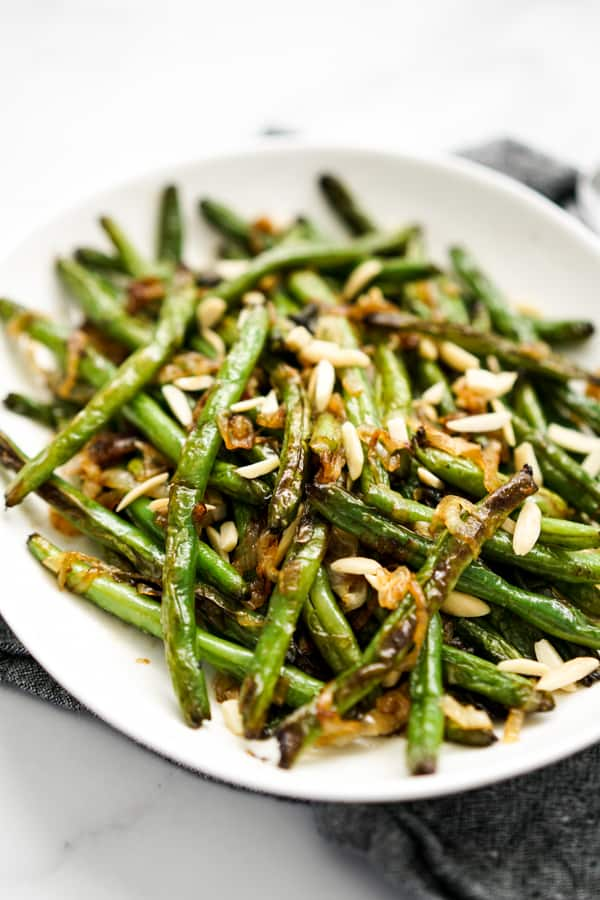 Caramelized Onions Sauteed Green Beans