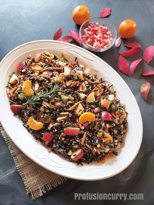 Instant Pot Wild Rice Pilaf Stuffing
