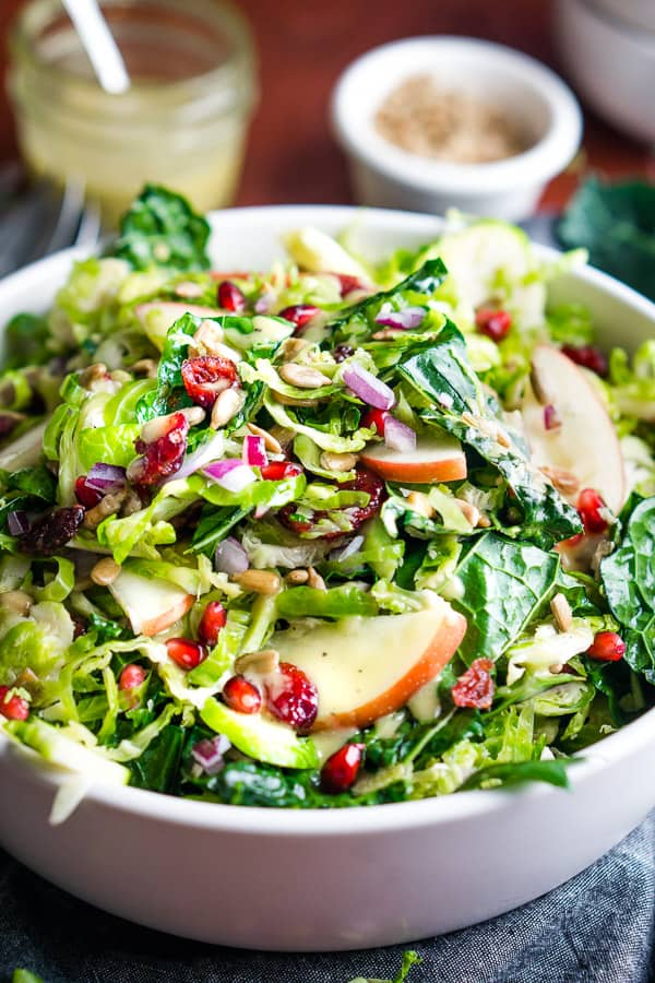 Shaved Brussels Sprout Slaw