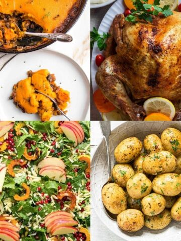 healthy thanksgiving dinners