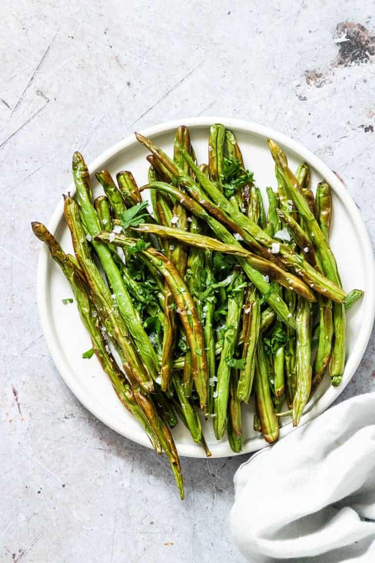 Easy Air Fryer Green Beans